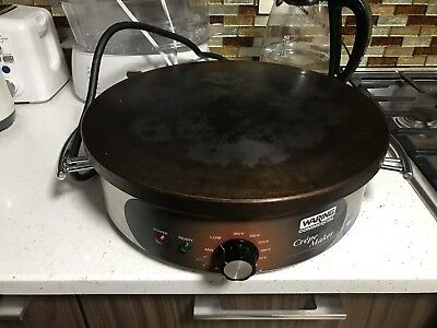 """Waring WSC160 Commercial Heavy-Duty Electric 16"""" Crepe Maker"""