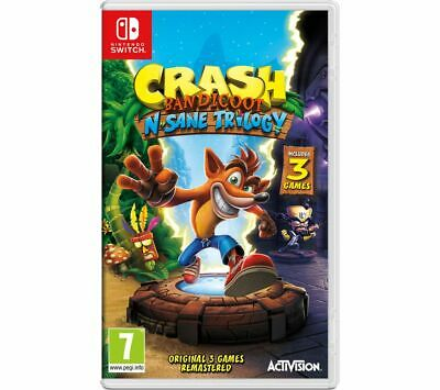 NINTENDO SWITCH Crash Bandicoot N-Sane Trilogy - Currys