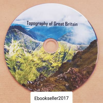 Topography of Great Britain, British traveller's pocket directory ebooks on disc