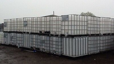 Water Tank Ibc Stillage Fuel Kerosene Red Diesel Storage Buy 2 + Delivery = £140