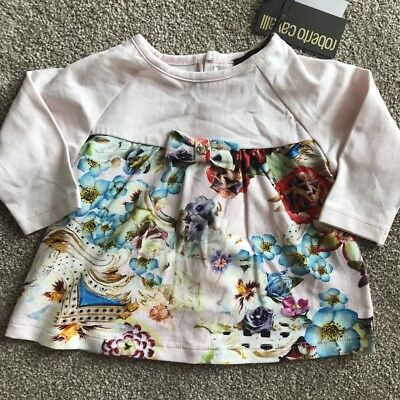 Roberto Cavalli Baby Girls Dress Age 3 Months New With Tags Fabulous
