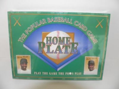 1996 Home Plate The Popular Baseball Card Game Vintage New Sealed