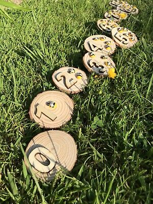 Wooden Number Bumblebees Educational Numbers EYFS Classroom Resource