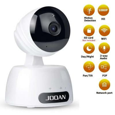 Security IP Camera,JOOAN Wireless Camera 1080P Home Video Surveillance With Two