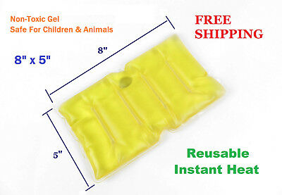 Reusable Instant Heat Pack Pad Sore Back Neck Shoulders Abdomen Menstrual Pain