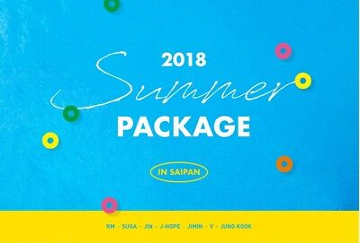 PreOrder BTS Summer Package Vol.4 DVD,Photo & Guide book, Poster, STRAP, Topper