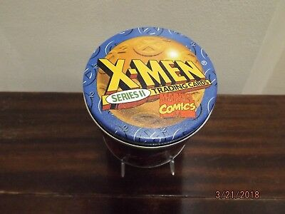 1993 SKYBOX X-MEN SERIES II COMPLETE SET of 100 BASE CARDS and TIN #00396