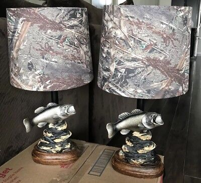 Max 4 Camo Lamp Shade Lampsahde Made With Realtree Fabric