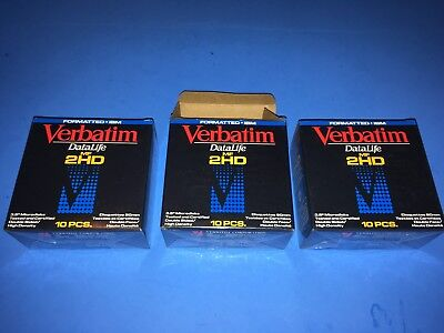 27 Piece Verbatim DataLife MF 2HD 3.5 Inch Vintage Computer NEW / OTHER