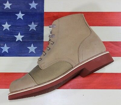 d92cd9387f8 THOROGOOD PROTOTYPE SAMPLE 1892 Dodgeville Tan Soft Toe Boots MADE in USA  sz 9 D