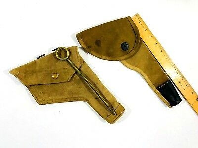 1940 Military WW2 Officers RCAF Royal Canadian Air Force Holster RAF Canvas