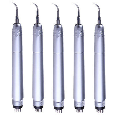 5Pc NSK Style 4Holes with 3Tips G1 G2 G4 Dental Handpiece Ultrasonic Air Scaler
