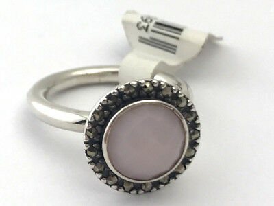 0837a9fbe Authentic Pandora Sterling Silver Sugar & Spice Pink Opal SZ 6 New  190617POP-52