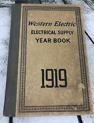 Western Electric Electrical Supply Yearbook 1919