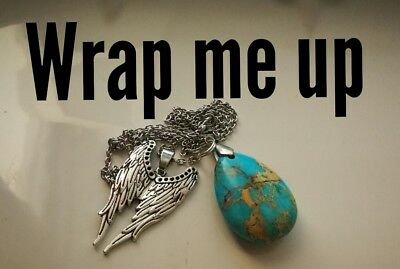 Code 297 Sea Sediment Wrap me up Infused n Charged Necklace Doreen Virtue Certif