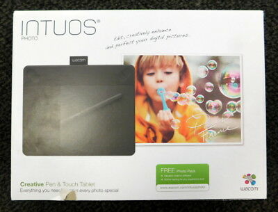 Intuos Photo Creative Pen & Touch Tabletwacom Photo Editing Tablet Cth-490/k2