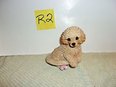 Living Stone, Inc Poodle in a Hat figurine1999