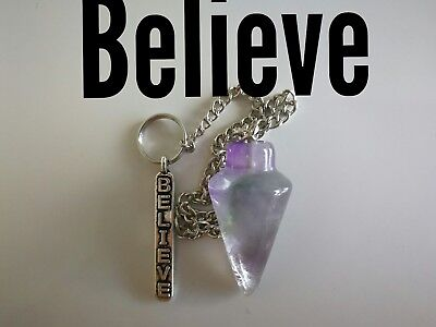 Code 808 Archangel Michael Amethyst Infused Pendulum Doreen Virtue Certified