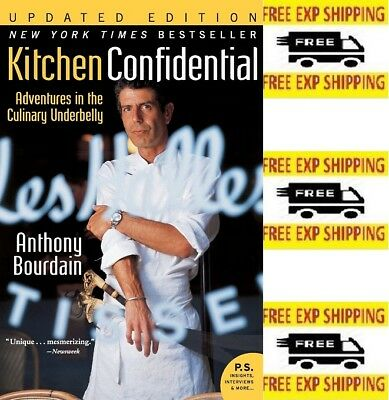 Kitchen Confidential Updated Edition: Adventures By Anthony Bourdain  [Paperback]