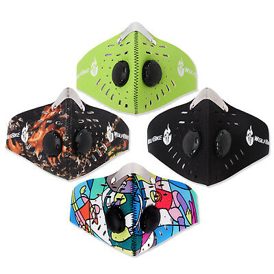Neoprene Anti Dust Motorcycle Bicycle Cycling Ski Half Face Mask Filter Sales