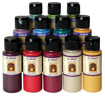 Chroma's Jo Sonja Potting Shed Color Collection, 2 oz Bottle, Multiple Color,...