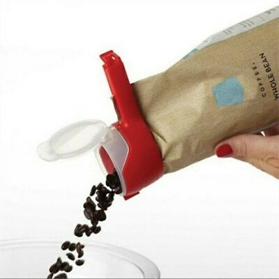 Sealing pouring bag clip fresh keeping snack reuseble clamp food kitchen home