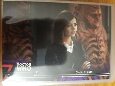 2016 Doctor Who Extraterrestrial Encounters #24 Clara Oswald PURPLE 07/50