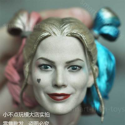 "1//6 Harley Quinn Head Sculpt 3.0 Suicide Squad For 12/"" PHICEN HotToys Figure USA"