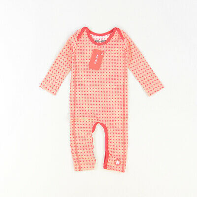 Pelele color Coral marca Kik Kid 6 Meses  512293
