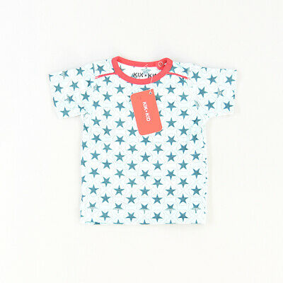 Camiseta color Azul marca Kik Kid 6 Meses  512376
