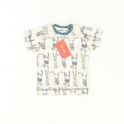 Camiseta color Marrón marca Kik Kid 6 Meses  512377