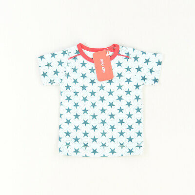 Camiseta color Azul marca Kik Kid 3 Meses  512378