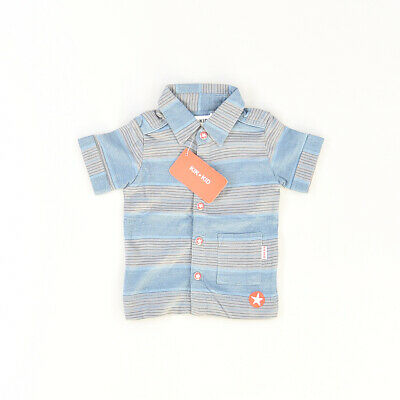 Polo color Azul marca Kik Kid 6 Meses  512384