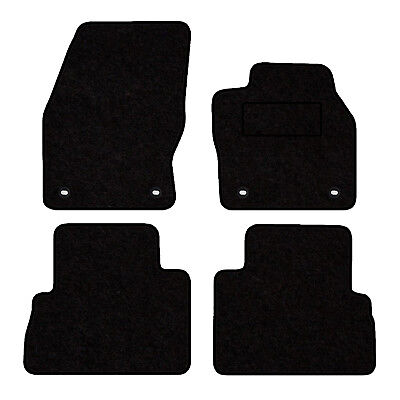 Tailored Velour Floor Mats For Ford C-Max 2015> 4 Clip Version