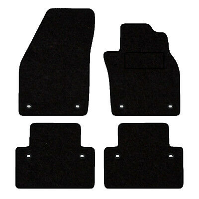 Tailored Velour Floor Mats For Volvo C30 Automatic 8-Clip Version