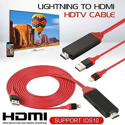 1080P Apple Lightning auf AV HDMI-TV-Kabel-Adapter für iPhone 5 5S 6 6S 7 iPad