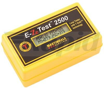 Martindale EZ2500 Non Trip Earth Loop Tester