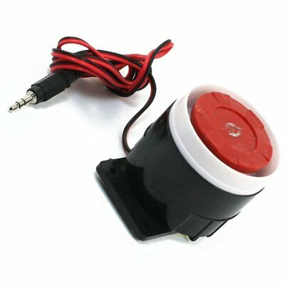 3X(Continuous Sound Decibel Piezo Buzzer IC Alarm DC 12V 120db Black+Red U5R8