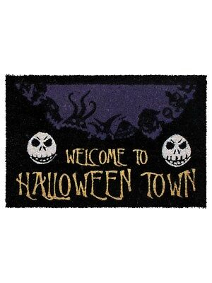 The Nightmare Before Christmas Halloween Town Fußmatte 40 x 60 cm