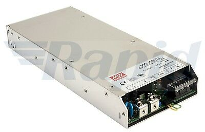 Mean Well RSP-1000-24 960W 24V Active PFC Enclosed Power Supply