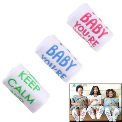 Labor And Delivery Non Skid Push Socks Be Mine Maternity Baby Shower Cute Gift