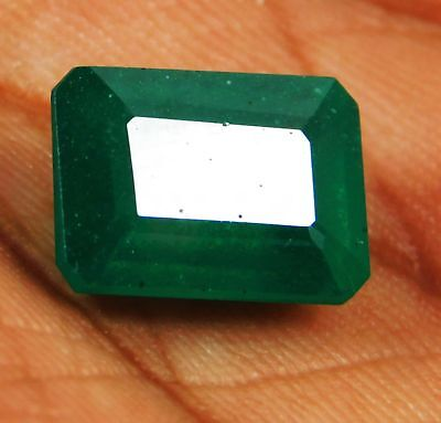 Natural 8.30 Ct Emerald Cut Colombian Loose Emerald Gemstone. 2410 GHT