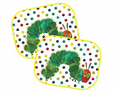Childrens Very Hungry Caterpillar Car Window Sun Shades: Set of Two