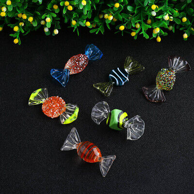18PCs Vintage Murano Glass Sweets Wedding Xmas Party Candy Decorations Gift Hot