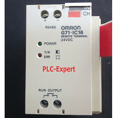 1pc USED Omron PLC Remote I/O Input Master G71-IC16 In Good Condition