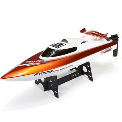 FeiLun FT009 2.4GHz RC Racing Boat 30km/h High Speed Yacht with Rectifying - RTR