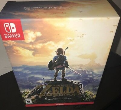 The Legend of Zelda Breath The Wild Special Limited Edition Nintendo Switch New
