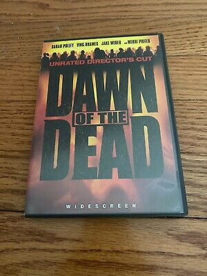 Dawn of the Dead (DVD, Unrated Directors Cut), Excellent Condition!