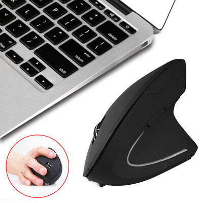 2000DPI Optical 2.4Ghz Wireless Ergonomic Game Mice Vertical Mouse For MAC PC