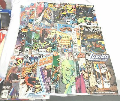 Superboy, Justice League, Legion of Superheroes & More Lot of 22 DC's High Grade